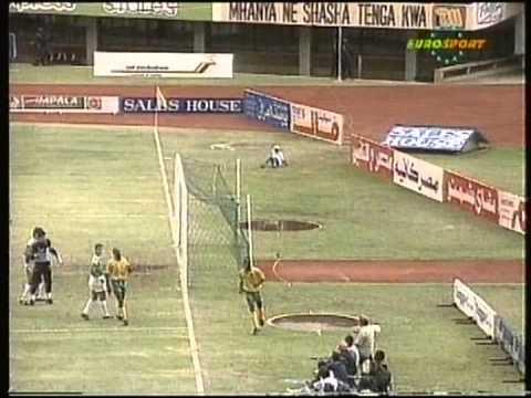 1992 December 20 Zimbabwe 2 Egypt 1 World Cup Qualfiier