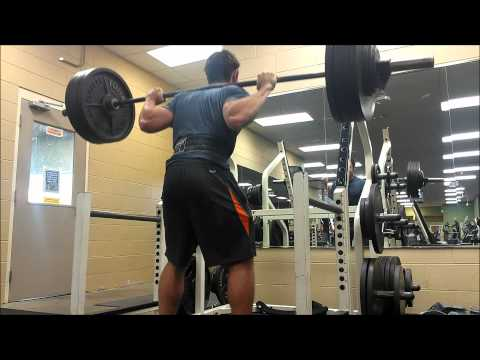 Powerlifting Squat vs Olympic Squat Form Image 1