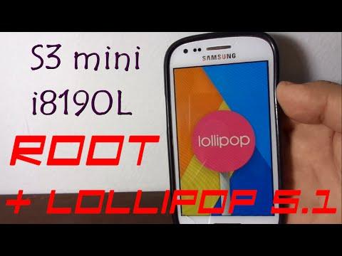 Rootear Samsung Galaxy S3 Mini i8190L + Lollipop 5.1 (Es tu Responsabilidad)