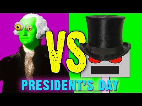 Zombie George Washington: President's Day Pentathlon