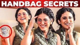VICTORIA'S SECRET Inside Priya Prakash Varrier's Handbag Revealed   What's Inside the HANDBAG