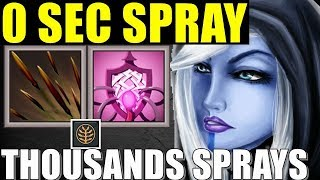 Maximum Stacking Spray Of ALL TIME | Dota 2 Ability Draft