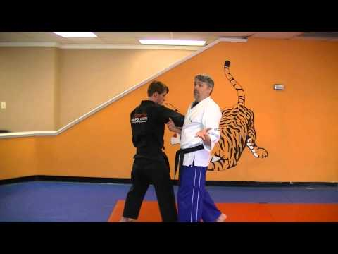 Dance of Death - Kenpo self defense technique for a right punch