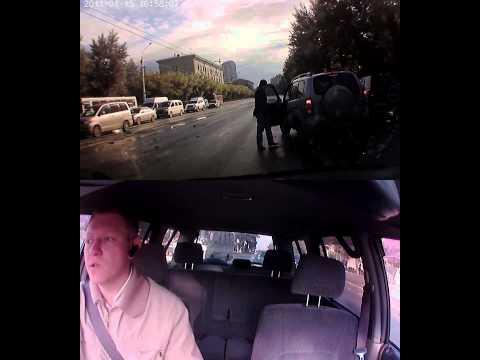Авария на Дуси Ковальчук 19.06.2013 8:25