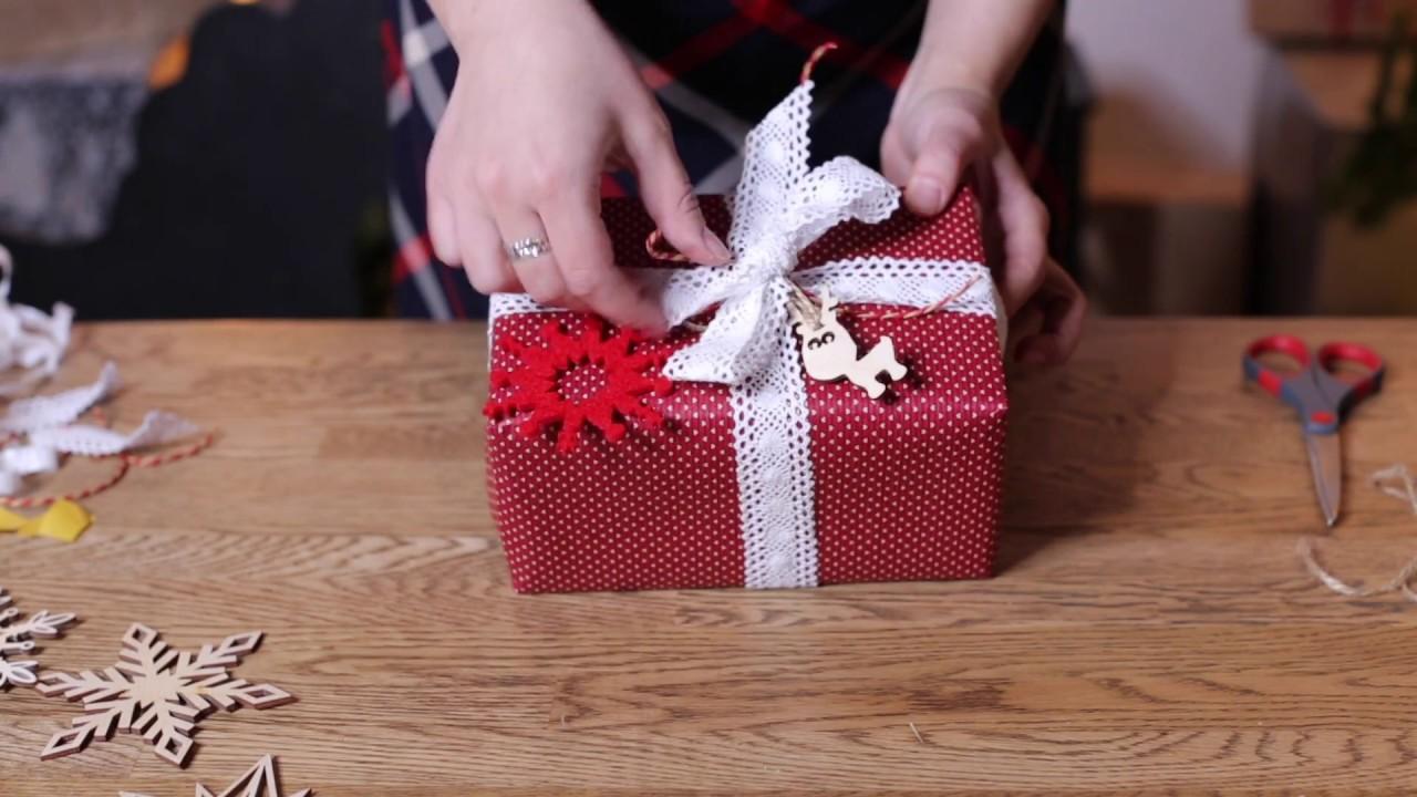 Как красиво оформлять подарки 918