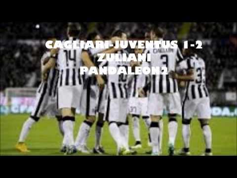 CAGLIARI-JUVENTUS 1-3 commento di CLAUDIO ZULIANI Vidal LLorente Tevez gol(18\12\2014)