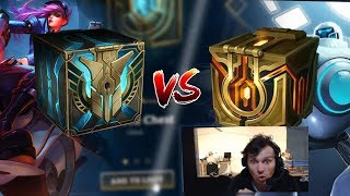 11 COFFRES HEXTECH VS 11 COFFRES APPARATS : ON OUVRE ET ON COMPARE !