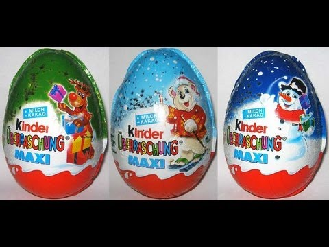 Watch Kinder Maxi Surprise!!!