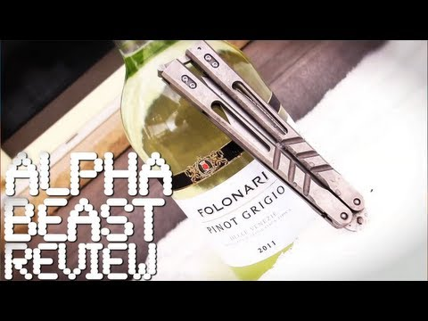 Alpha Beast - Balisong Review