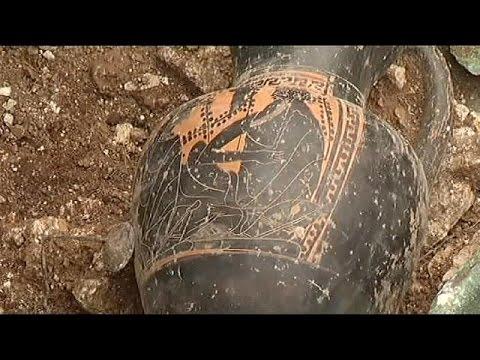 فرنسا: اكتشاف معلم أثري يعود إلى العصر الحديدي