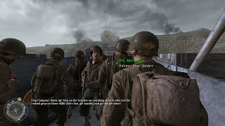 Normandy D-Day - The Battle of Pointe du Hoc - Call of Duty 2