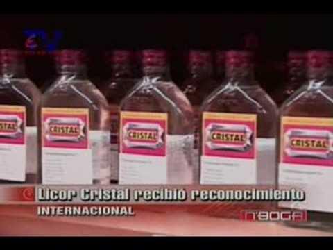 Licor Cristal recibió reconocimiento internacional
