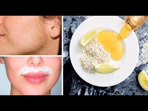 Cómo Eliminar Vello Facial y Corporal Definitivamente en Casa / Get Rid of Facial Hair Naturally