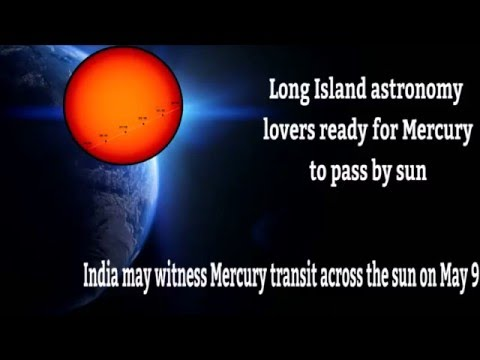 Long Island astronomy lovers ready for Mercury to pass by sun