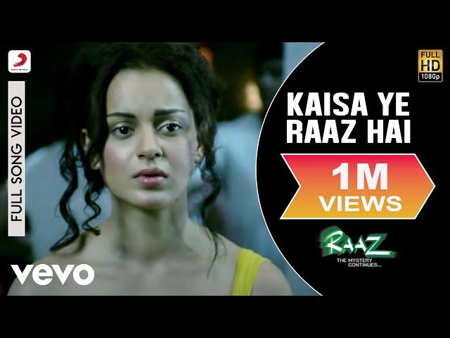 Raaz - The Mystery Continues - Kaisa Ye Raaz Hai Video   Emraan