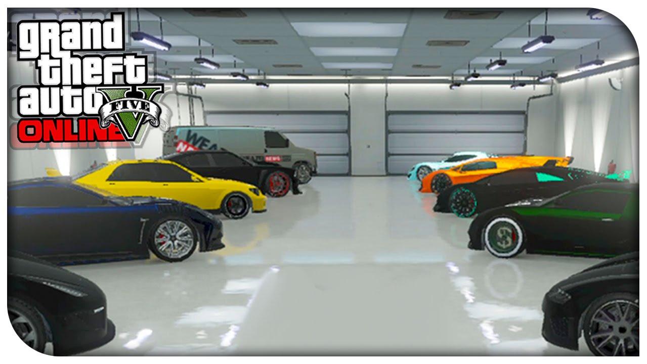 Gta 5 online saintsfan 39 s garage tour 3 0 modded cars for Garage credit auto 0