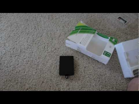 Unboxing & Installation of 320GB Xbox 360 Hard Drive