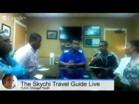 TUCC Chicago Youth On The Skychi Travel Guide Live