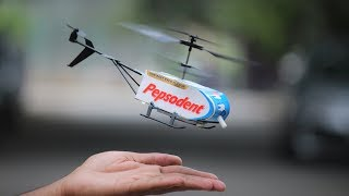 How to make a helicopter - fly toy helicopter
