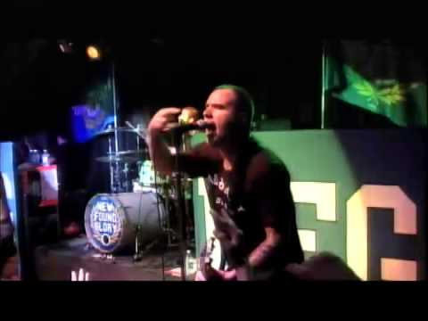 """NEW FOUND GLORY """"No Reason Why"""" (Gorilla Biscuits Cover)  Live (Multi Camera video)"""