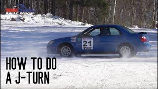 How to do a Reverse 180 aka J-Turn