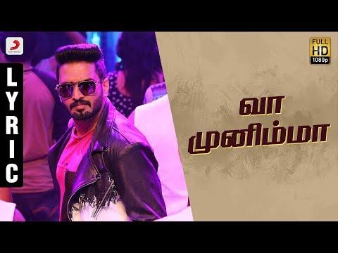 Sakka Podu Podu Raja - Vaa Munimma Tamil Lyric | Santhanam | STR l T. Rajendar