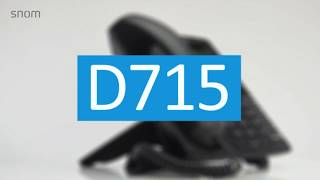 Snom D715 - VoIP Phone (Russian)