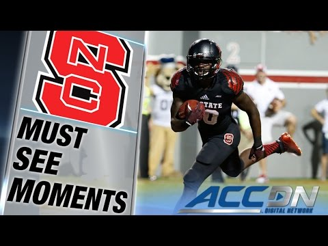 Nc State Rb Shadrach Thornton Rumbles In For The Td | Acc Must See Moment video
