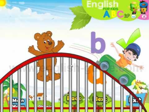 Phonics تعليم الانجليزية للأطفال - النطق السليم