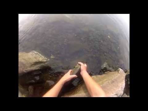 Go Pro Smallmouth Bass Fishing, Part 1