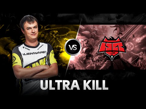 Ultra kill by XBOCT vs HellRaisers Excellent Moscow Cup 2