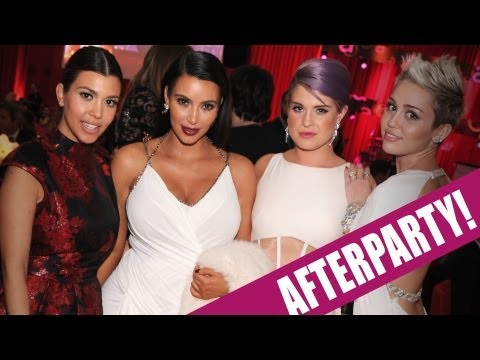 ¡Kardashians, Nicki Minaj y Miley Cyrus Afterparty!