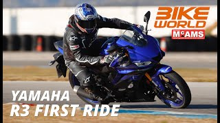 2019 Yamaha R3 First Ride Review