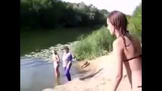 Funny Video With Girls  Jokes With Beautiful Girls  Blondes And Brunettes  Funny Videos, Good Humor!
