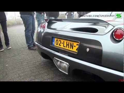 Koenigsegg making some noise in Holland!