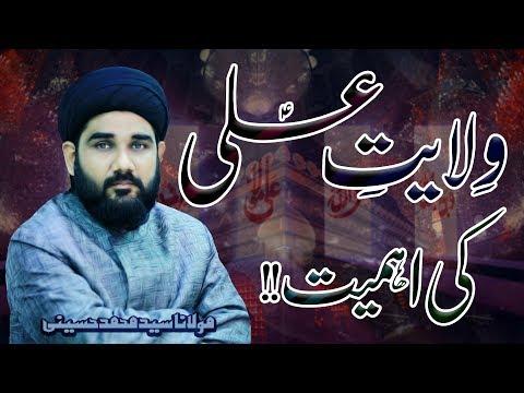 Wilayat-E-Ali (a.s) Ki Ahmiyat !! | Maulana Mohammad Hussaini | 4K