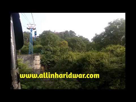 Mansa Devi Siddh Peeth View From Trolly (ropeway) Haridwar Uttarakhand...