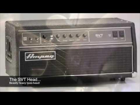 Ampeg Svt Ampeg Svt Bass Amp Demo