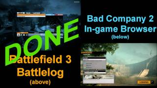 Speed Test - BF3 Battlelog vs. BC2 Server Browser