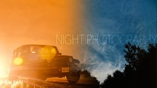 Night Photography and Time-lapse
