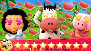 Watermelon Song 🍉 | Little Baby Bum Animal Club | Fun Songs for Kids