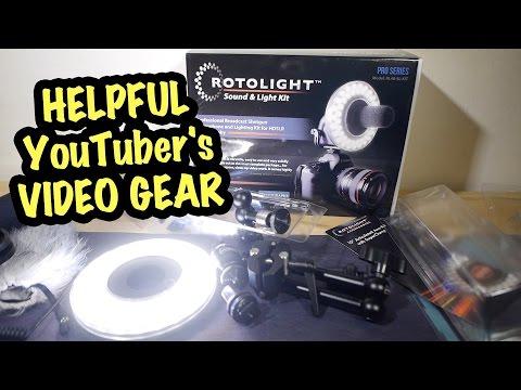 Helpful YouTuber鈥檚 Video Gear - Rotolight stuff Multi-Review