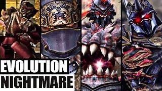 Evolution of Nightmare from SoulCailbur (1995-2018)