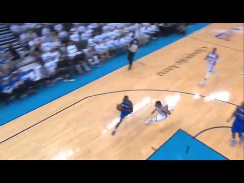 NBA, playoff 2014, Thunder vs. Clippers, Round 2, Game 2, Move 57, Willie Green, assist