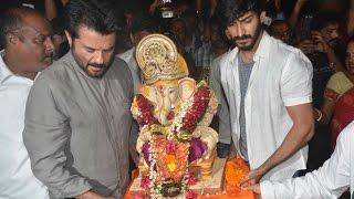 Anil Kapoor & Harshvardhan Kapoor's Ganpati Visarjan 2016