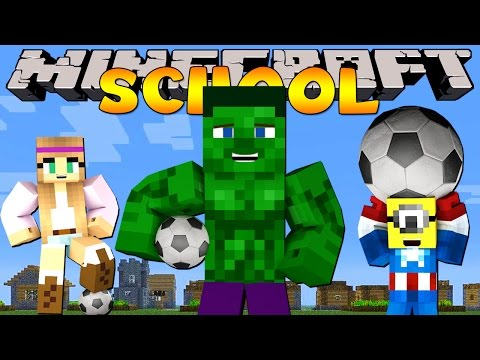 Minecraft School : FIRST EVER SPORTS DAY