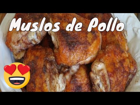 Muslos de Pollo al Horno con Especias - The Frugal Chef