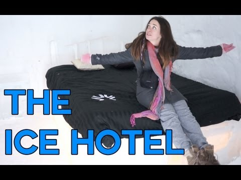 Sleeping in an Ice Hotel - Quebec City