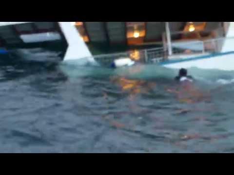 Sharks Attack Man off Sinking Boat