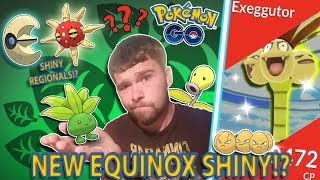 WHAT WILL THE EQUINOX EVENT SHINY BE IN POKEMON GO? ARE SHINY REGIONALS ON THE WAY!?